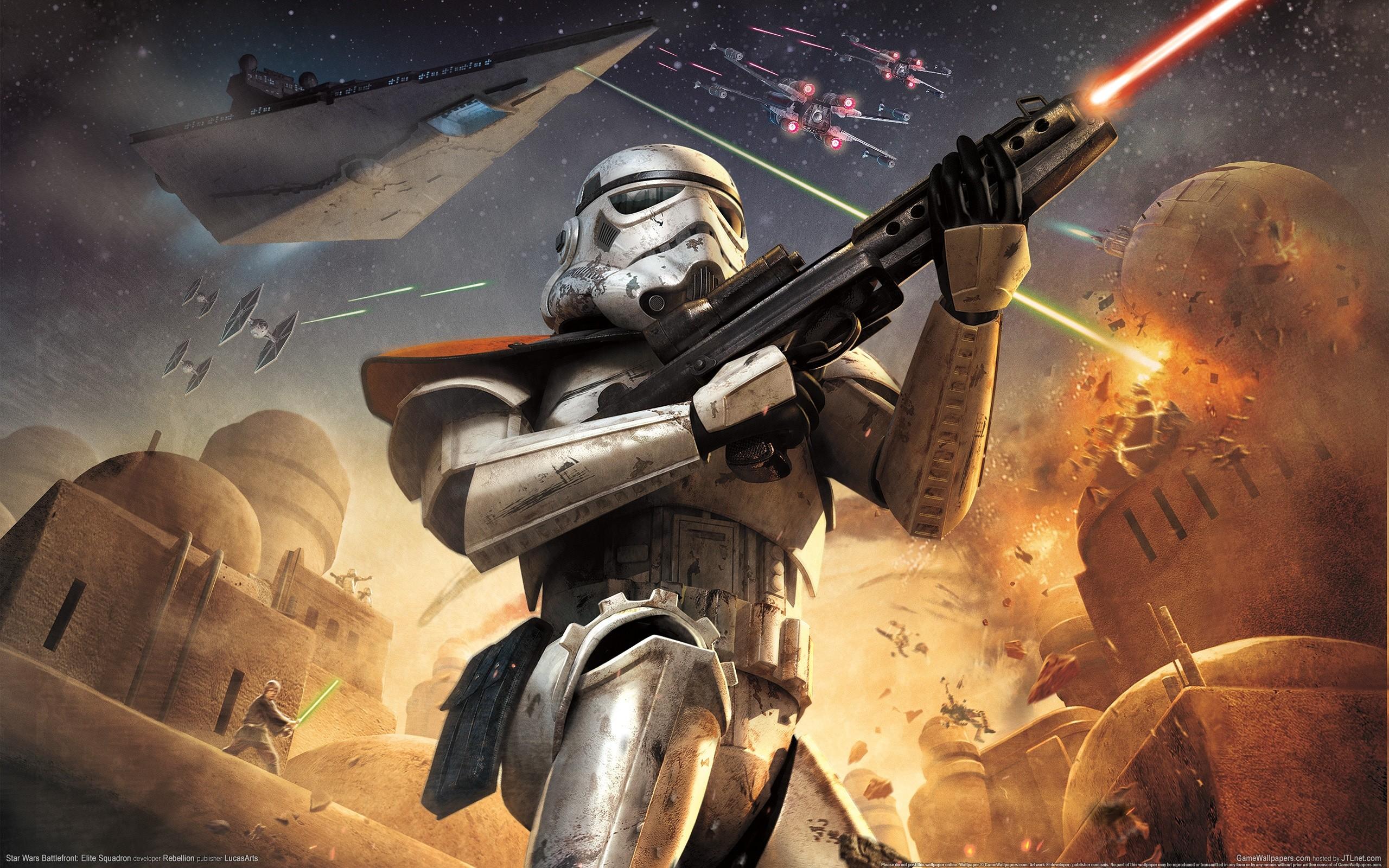 Star Wars Video Games Stormtroopers Static 3d Wallpaper 2560x1600 17715 Wallpaperup