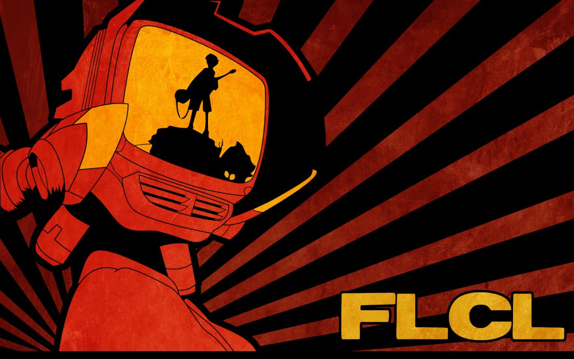 Flcl fooly cooly canti anime wallpaper