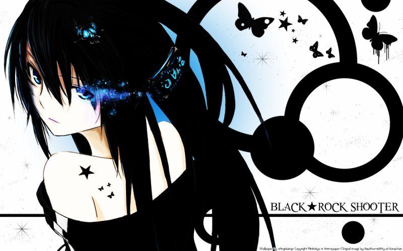 Black rock shooter anime girls wallpaper