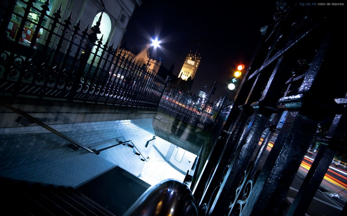 Cityscapes night london wallpaper