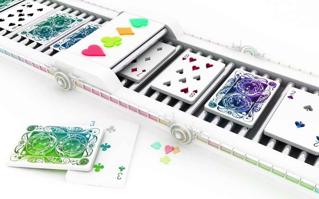 Cards cgi chromatic k3 studio wallpaper