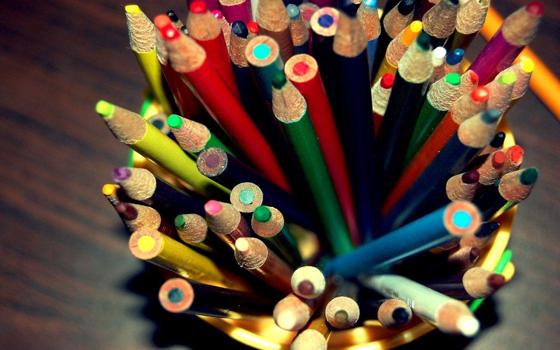 Pencils wallpaper