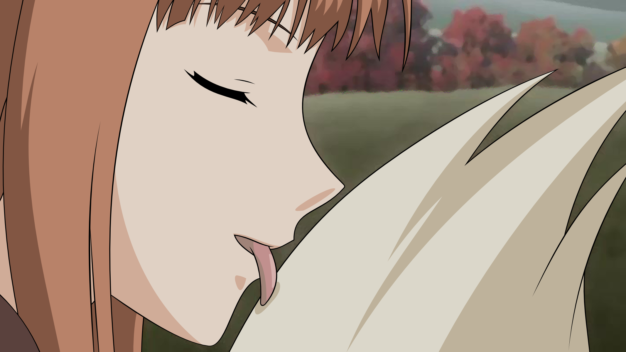 Holo Spice and Wolf HD Wallpapers Desktop and Mobile Images