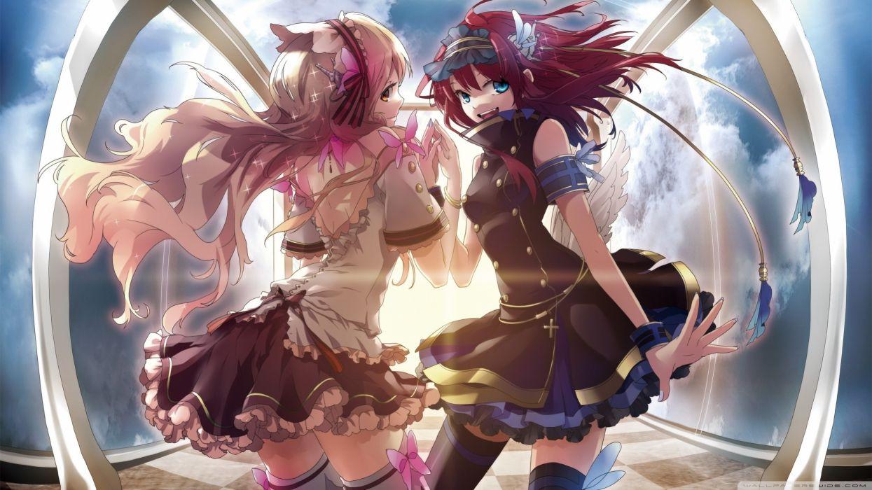 Wings anime anime girls wallpaper