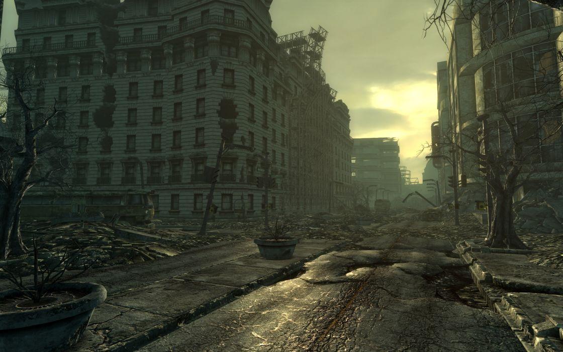 Video games screenshots fallout 3 wallpaper