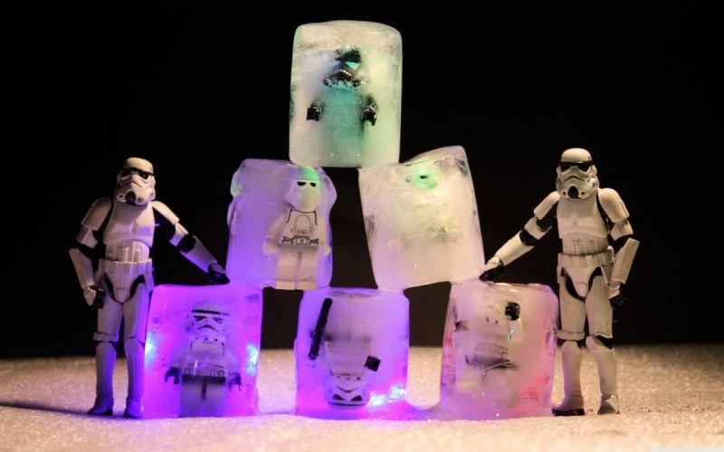 Winter (season) stormtroopers team funny wallpaper
