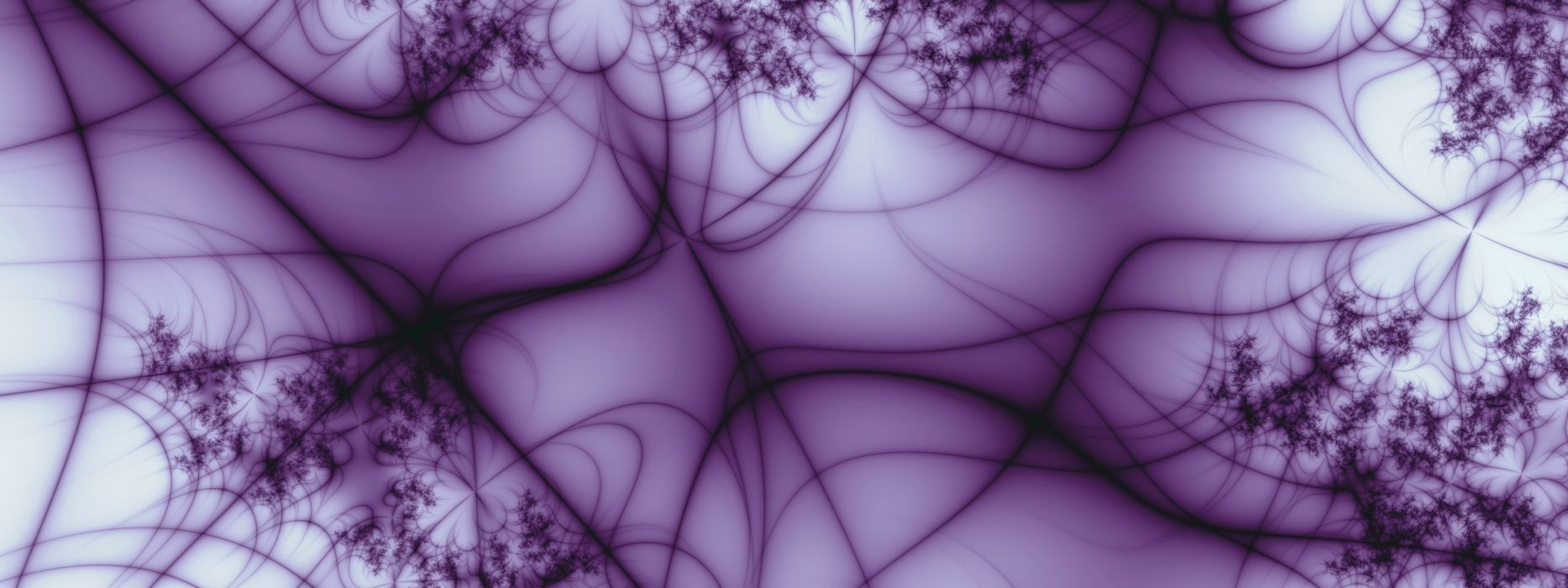 Abstract purple dual screen lines wallpaper