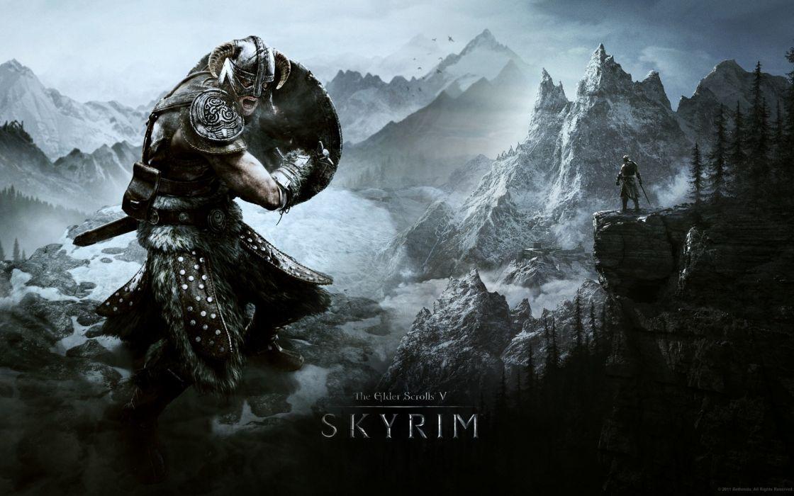 The elder scrolls v skyrim games wallpaper