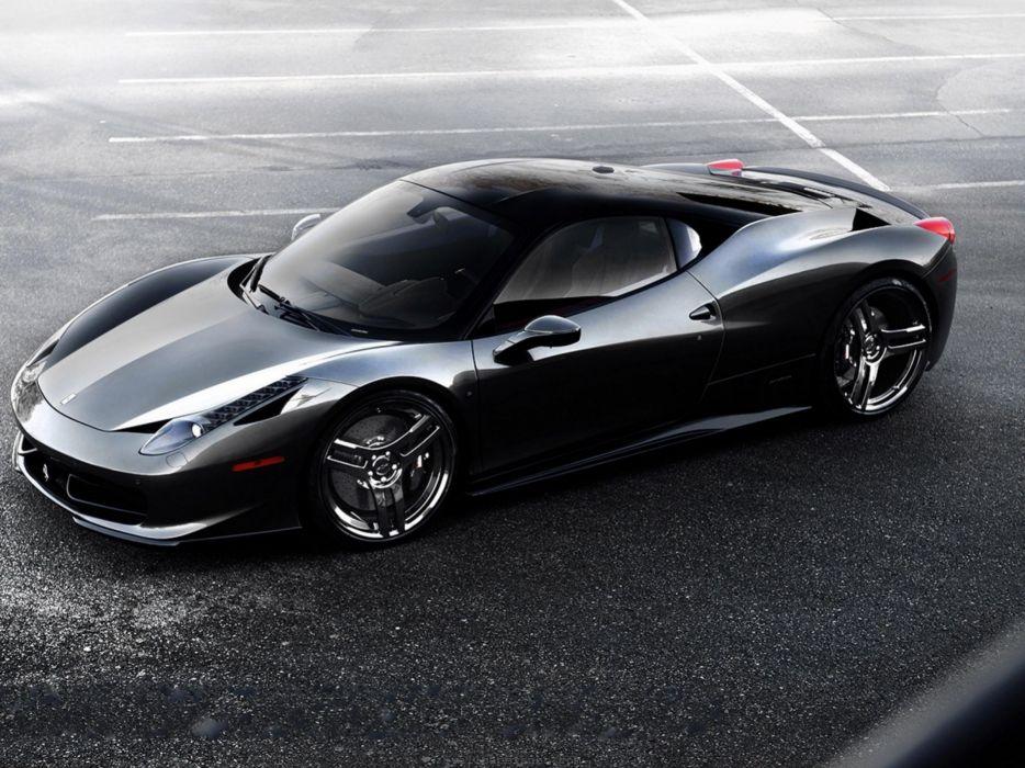 Black world cars ferrari 458 italia ferrari 458 wallpaper