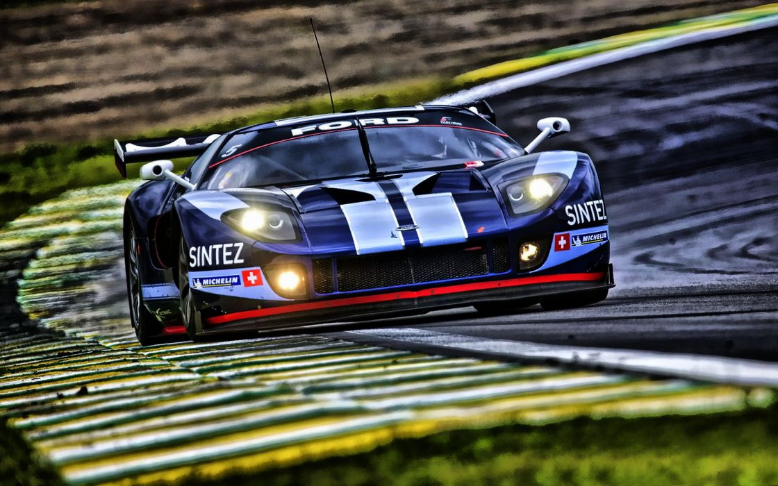 Cars ford ford gt hdr photography racing cars wallpaper