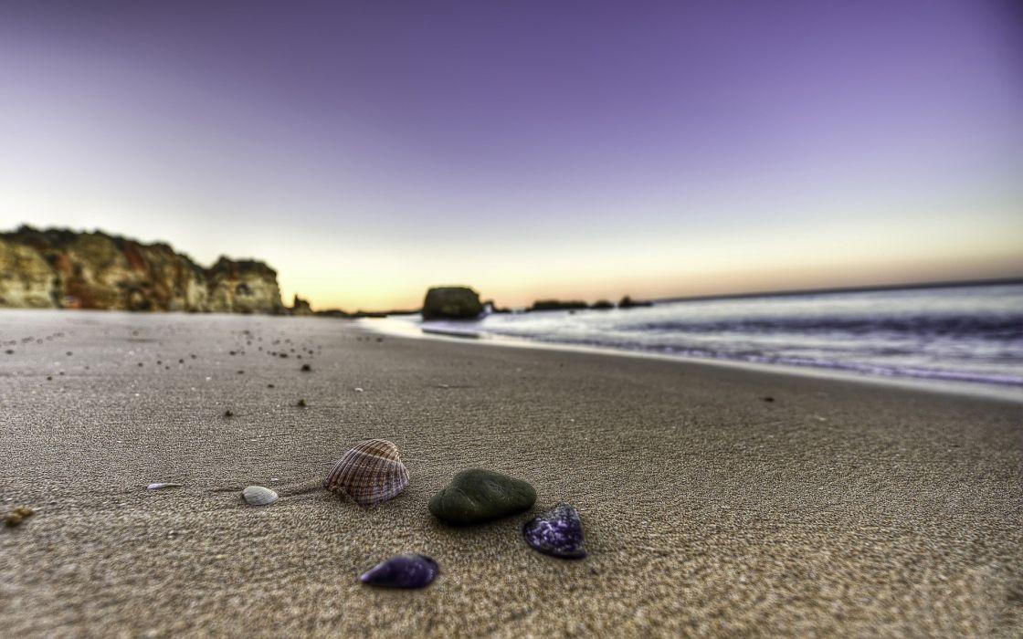 Landscapes nature beach sand wallpaper