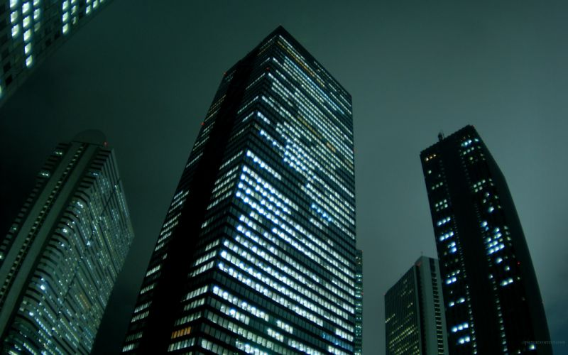 Cityscapes skylines buildings skyscrapers wallpaper