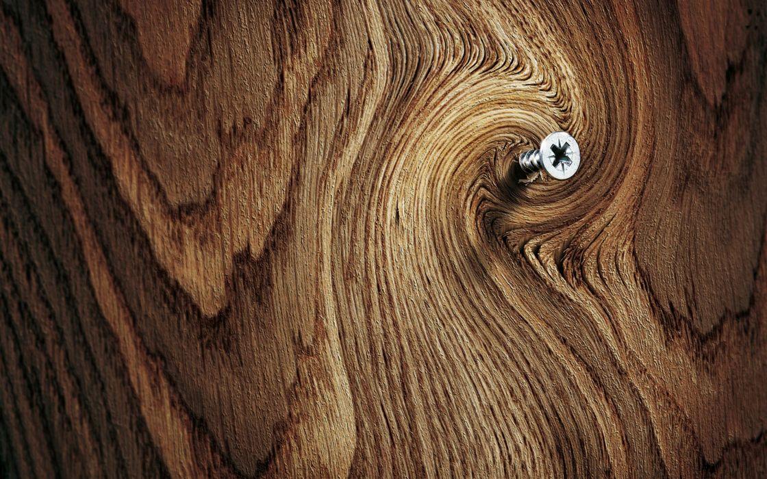 Trees wood screw wallpaper