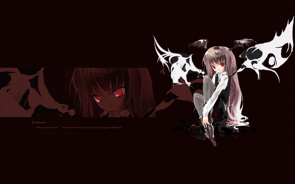 Women touhou devil koakuma wallpaper