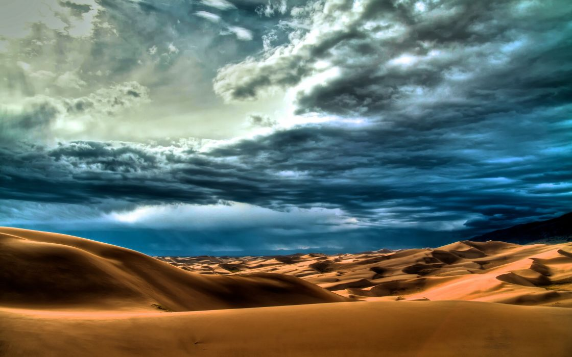 Clouds landscapes nature desert skyscapes wallpaper