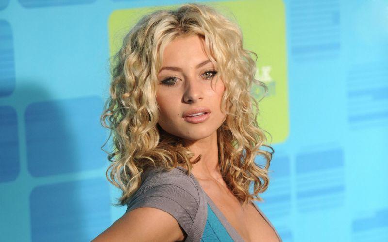 Blondes women alyson michalka hellcats wallpaper