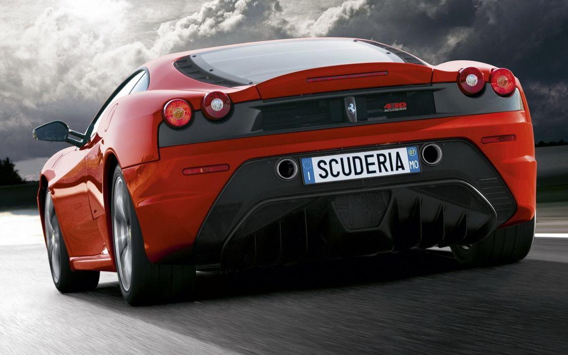 Cars ferrari vehicles supercars red cars ferrari f430 scuderia wallpaper