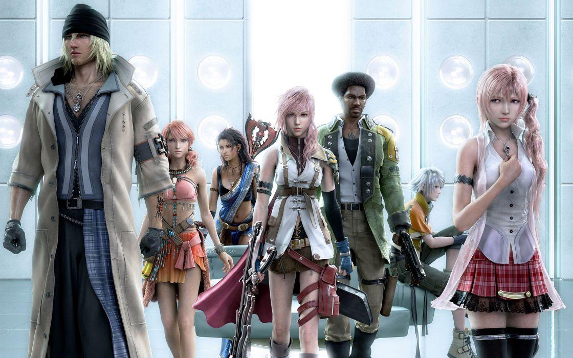 Final fantasy video games wallpaper
