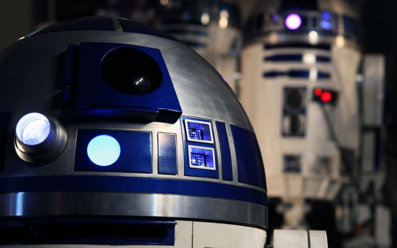 Star wars robots r2d2 wallpaper