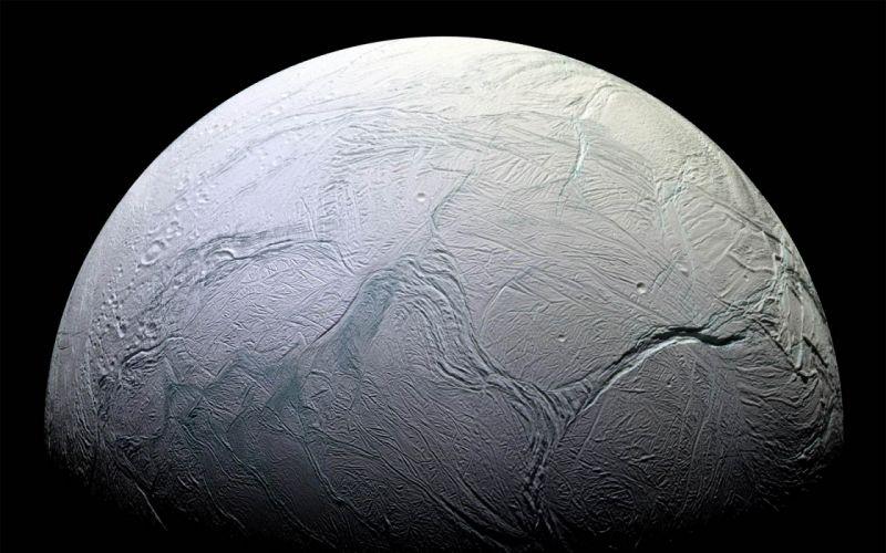 Planets surface enceladus wallpaper