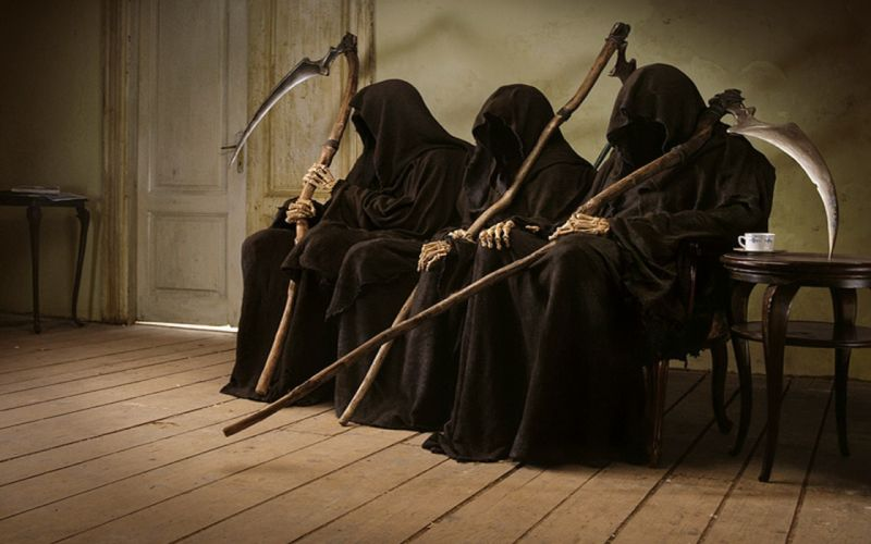 Death grim reapers wallpaper