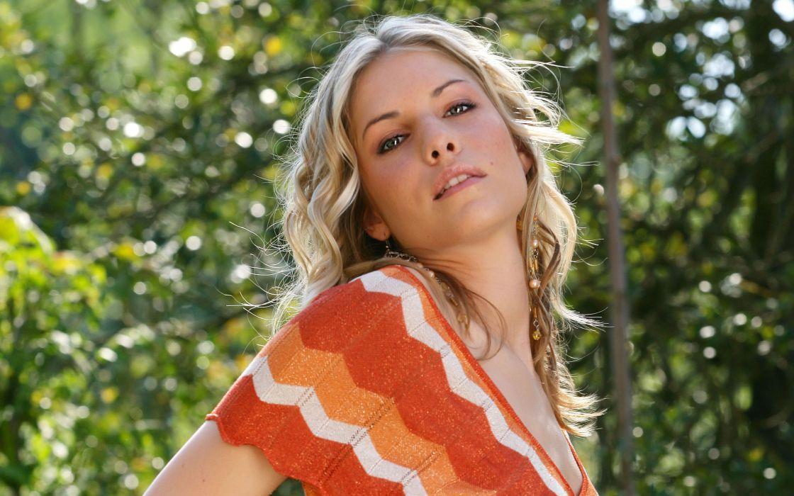Blondes women iveta b iveta vale wallpaper