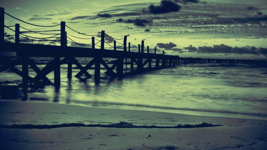 Landscapes beach seas wallpaper