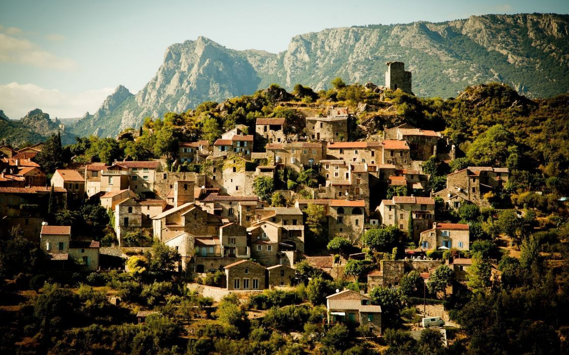 Cityscapes france wallpaper
