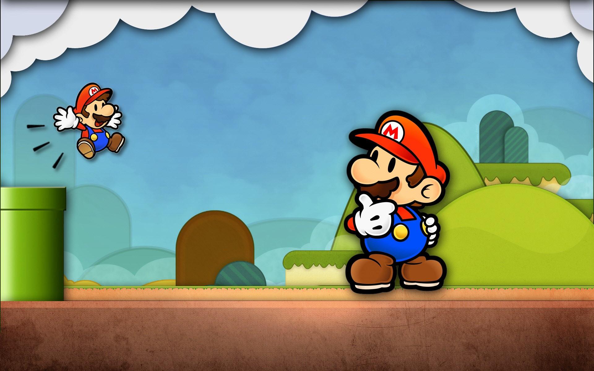 Abstract Computer Games Abstract Video Games Mario
