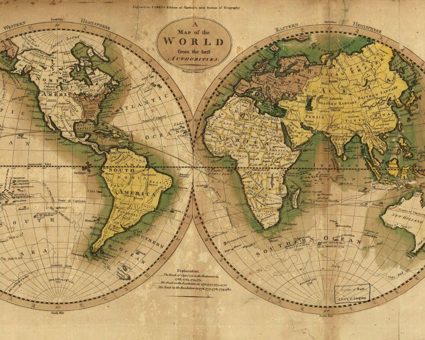 Maps world map cartography wallpaper