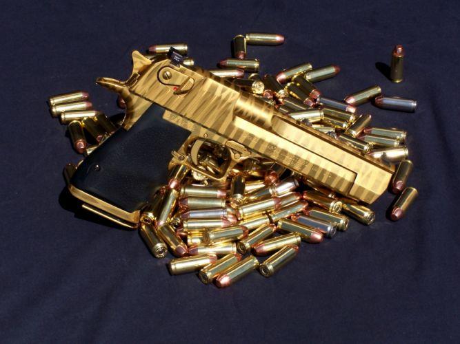 Guns shells ammunition wallpaper