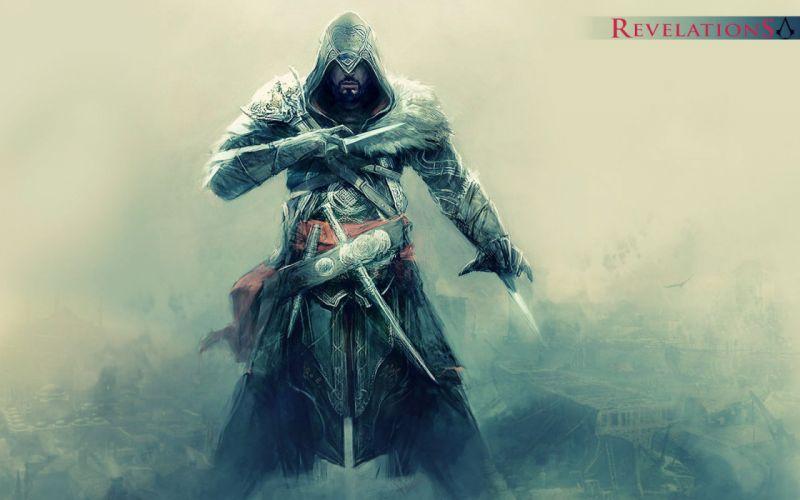 Video games ezio assassins creed revelations wallpaper