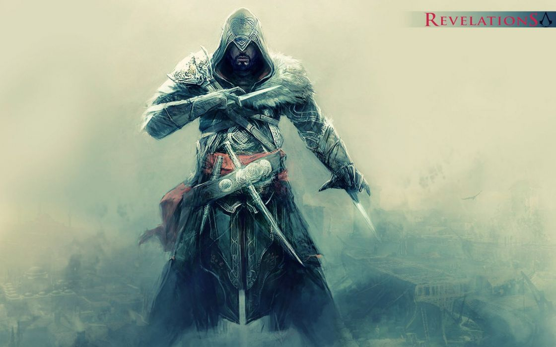 Video games ezio assassins creed revelations wallpaper
