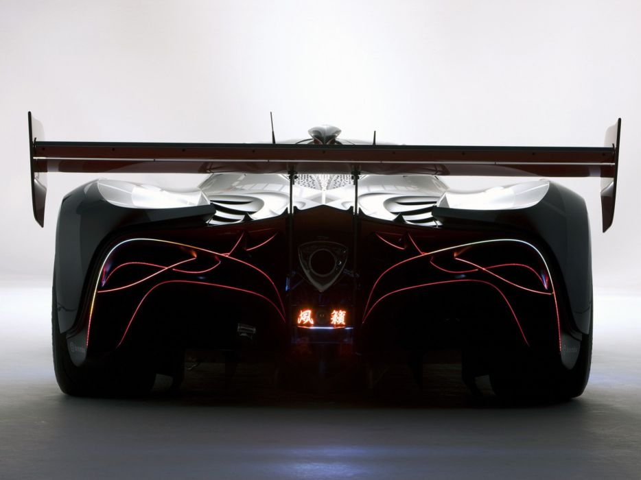 Cars concept backview women mazda furai background wallpaper