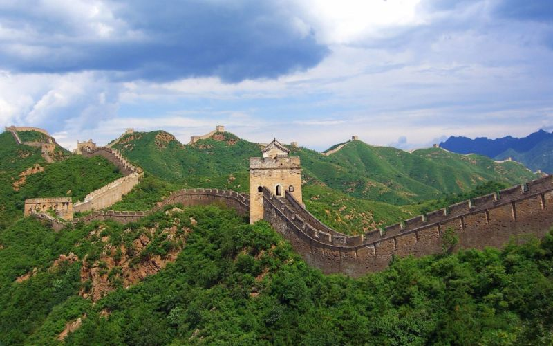 Architecture great wall of china wallpaper