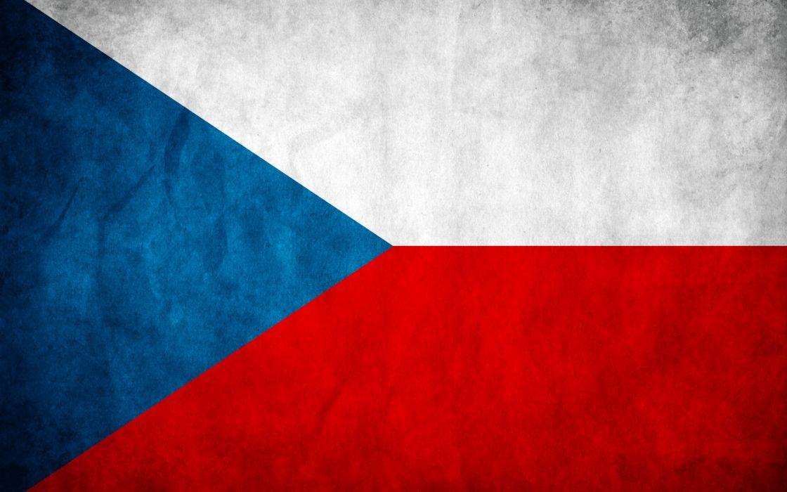 Flags czech republic wallpaper