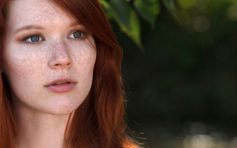 Art magazine outdoors freckles faces mia sollis natural lighting wallpaper