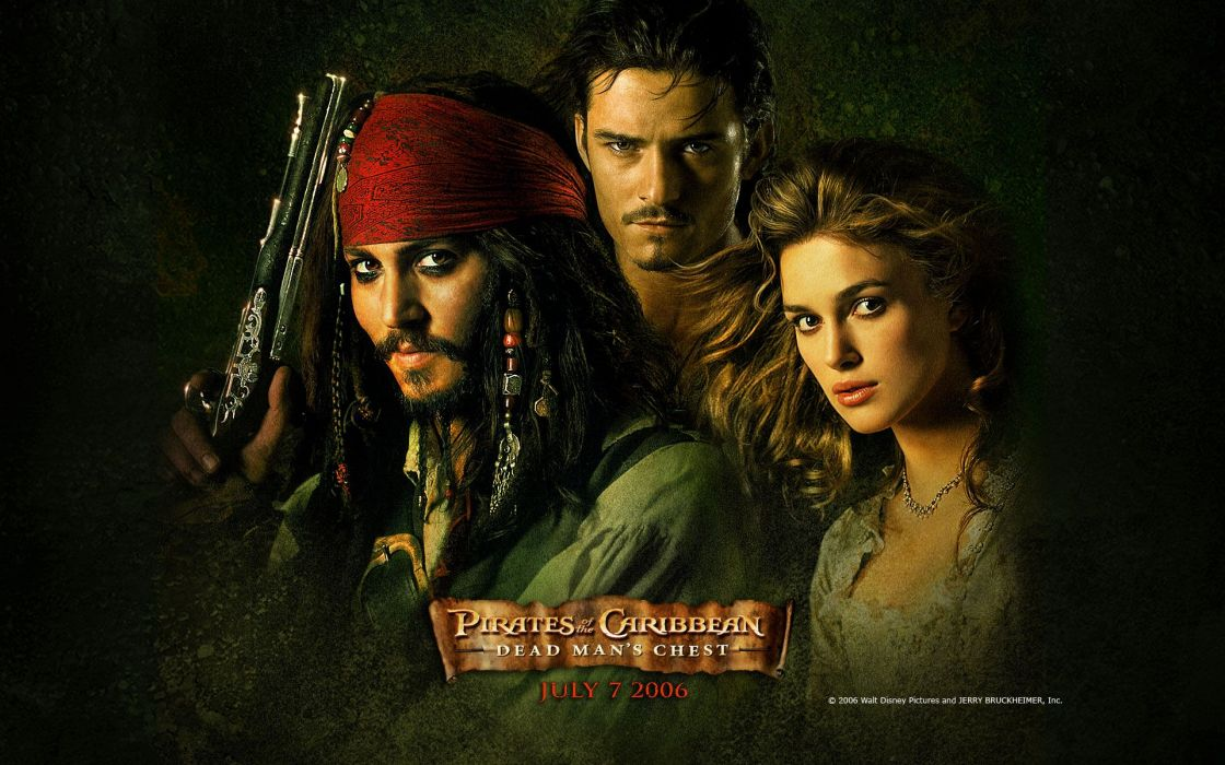 Movies pirates of the caribbean orlando bloom captain jack sparrow elizabeth swann wallpaper