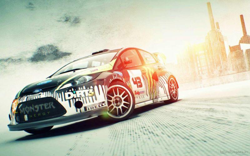 Monsters cars rally dirt 3 games wallpaper