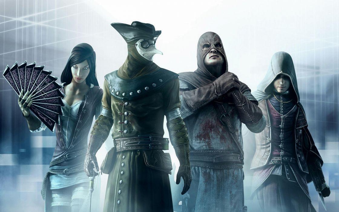 Assassins creed artwork 3d wallpaper