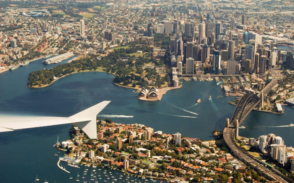 Sydney australia new south wales cities wallpaper