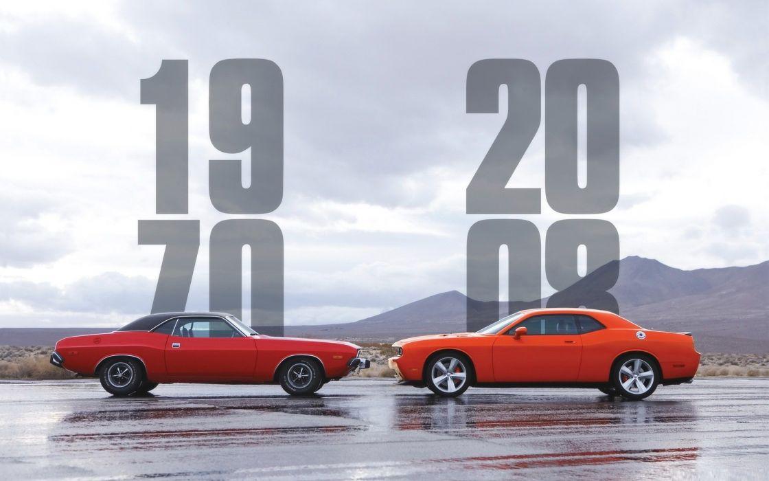 Cars 2008 dodge challenger 1970 wallpaper