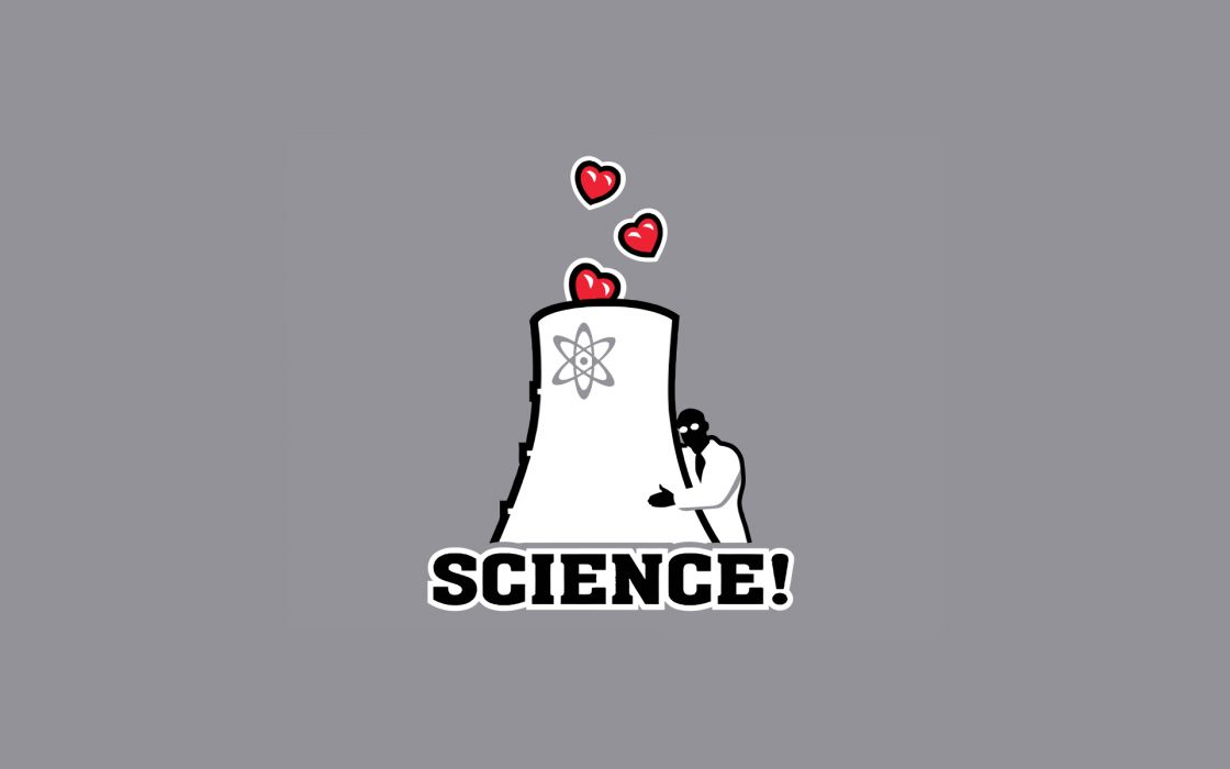 Science love nuclear nuclear power plants wallpaper