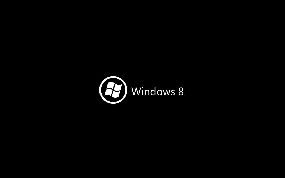 Black minimalistic deviantart windows 8 wallpaper