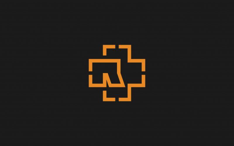 Minimalistic symbol rammstein wallpaper