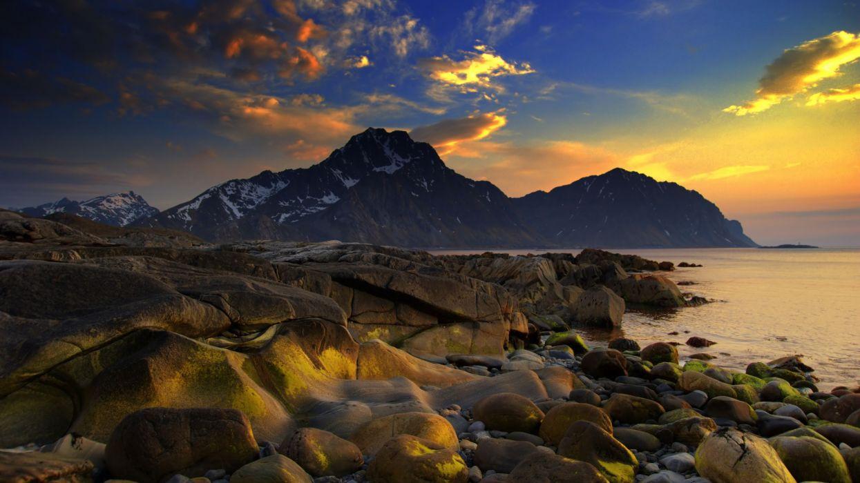 Ocean landscapes wallpaper