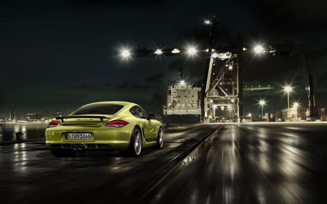 Porsche cars port wallpaper
