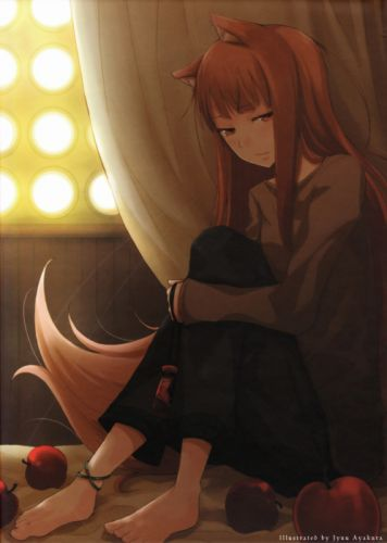 Spice and wolf animal ears holo the wise wolf wallpaper