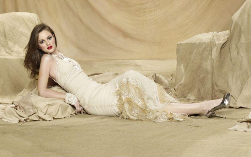 Women leighton meester gossip girl blair waldorf wallpaper