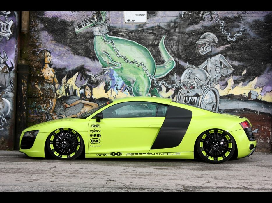 Cars tuning performance audi r8 static audi r8 v10 wallpaper